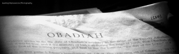 Book of Obadiah