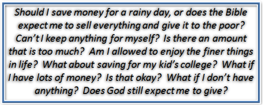 Money Questions for Christians