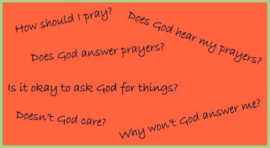 Prayer Questions